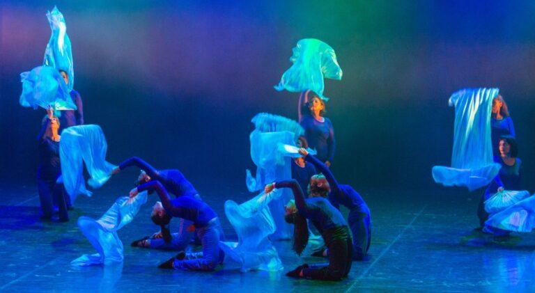 photo spectacle danseuses bleues